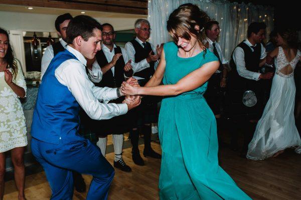 Wedding venue dancing