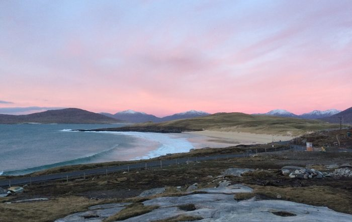 Outer Hebrides winter