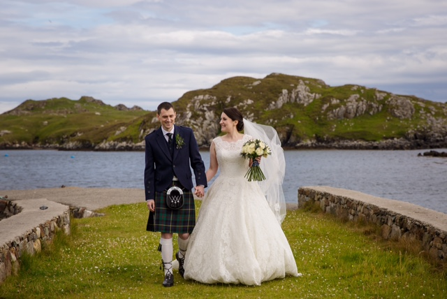 Outer Hebrides wedding